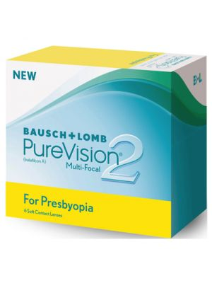 Purevision 2 HD for Presbyopia (6 lentes)
