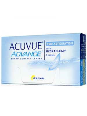 Acuvue Advance for Astigmatism (6 lentes)