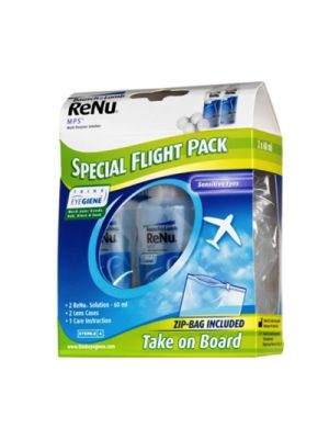Renu Multiplus Flight Pack - 2 x 60 ml
