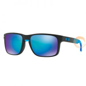 OAKLEY  HOLBROOK PRIZM POLARIZED SAPPHIRE FADE COLLECTION OO9102-D255 57-18 137